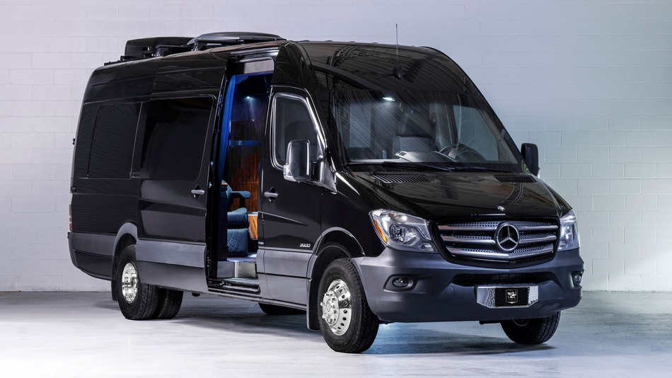 Custom Fitted Mercedes Sprinter Vans for CEOs